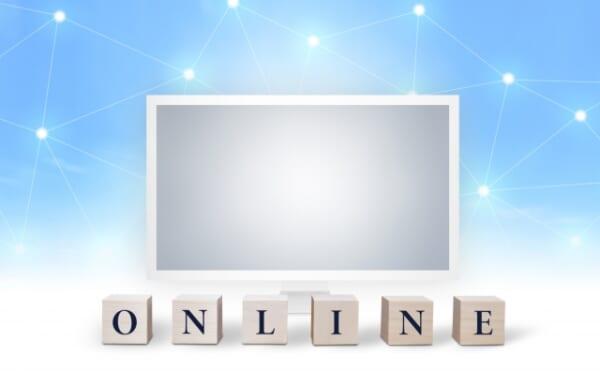 PCとオンラインのイメージ